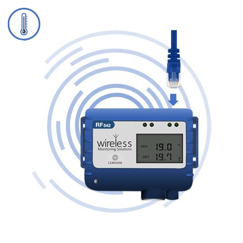 RF542 Remote Temperature Monitor