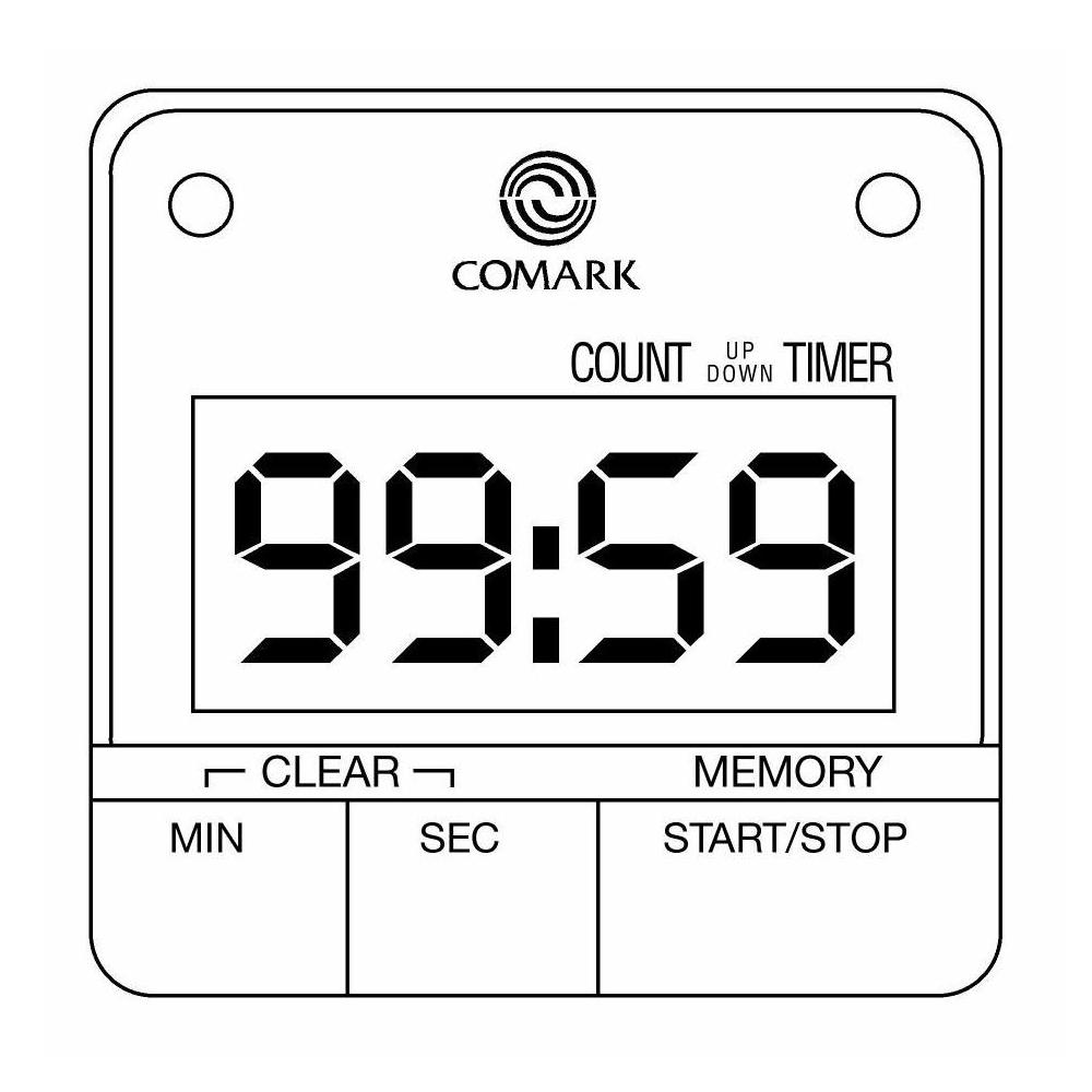 Kitchen Countdown Timer UTL264 from Comark