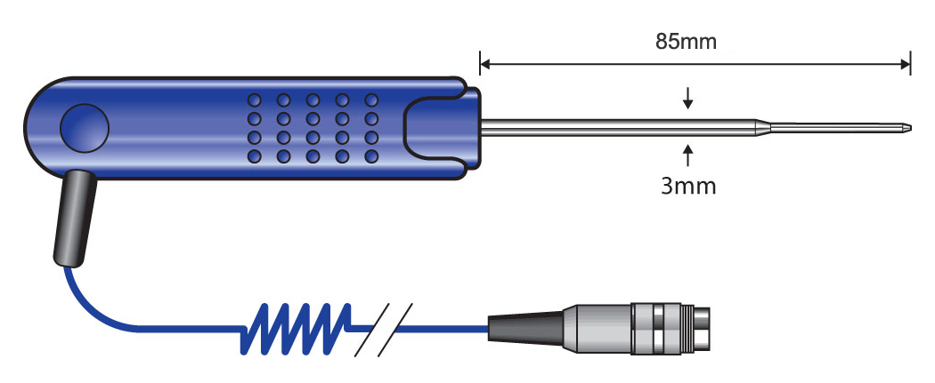 PT19L Thin Tip Penetration Probe