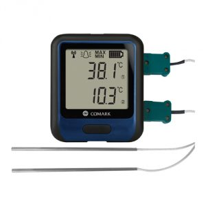 WiFi Dual Channel Data Logger with Thermocouples