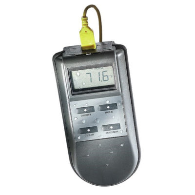 KM43F Water-Resistant Thermocouple Thermometer