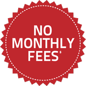 No Monthly Fees