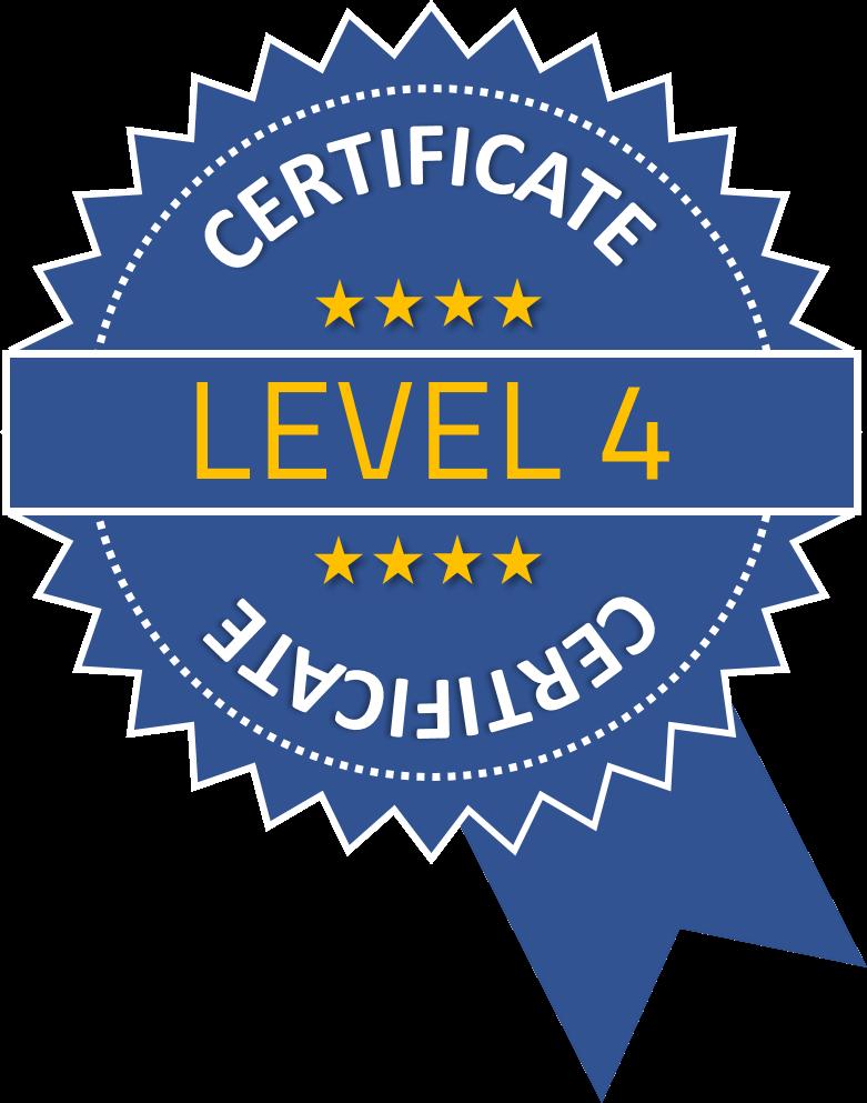 Level 4 Certificate