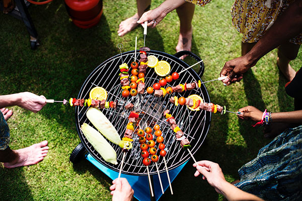 Enjoy safe food by checking meat temperatures with a BBQ thermometer