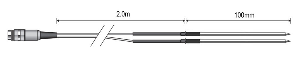 KX8942 Special Probe - 2m Duplex Penetration